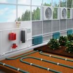 Системы обогрева гидропонной установки в теплице