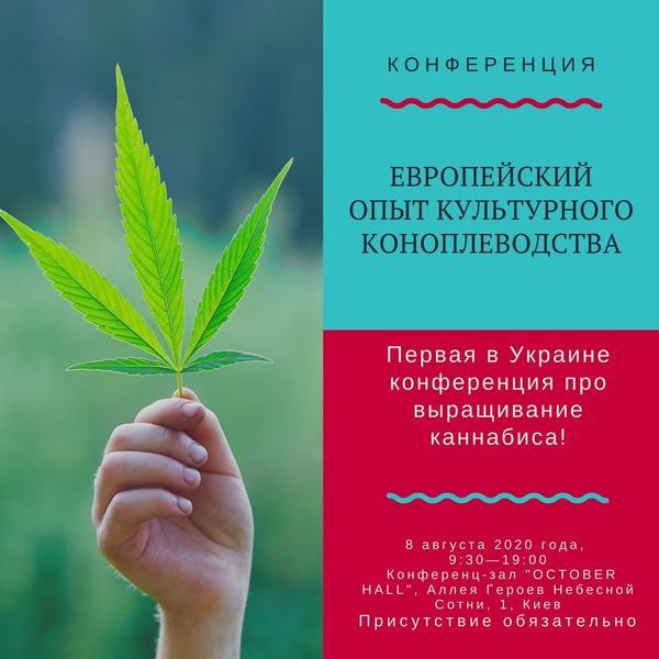 Первая в Украине конференция по выращиваю конопли